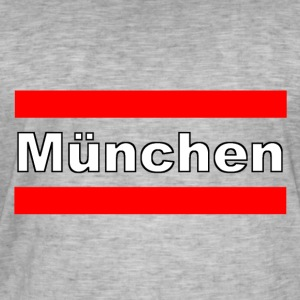 Munich Streetwear - Men's Vintage T-Shirt