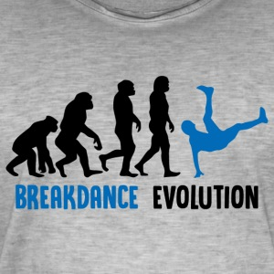 ++ ++ Breakdance Evolution - Mannen Vintage T-shirt