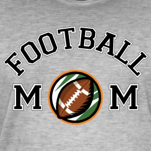 Mom Football - T-shirt vintage Homme