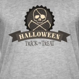 halloweeen shirt - Vintage-T-skjorte for menn