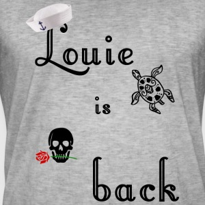 Louie is terug, zeeman vintage rockabilly t-shirt - Mannen Vintage T-shirt