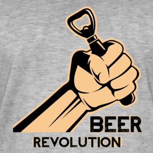 Beer revolution - Men's Vintage T-Shirt