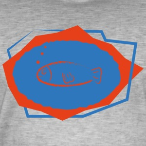FISH LINEN - Men's Vintage T-Shirt