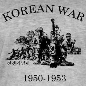 Korean War 1950-1953 - Men's Vintage T-Shirt