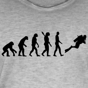 Evolution Diving Diving b - Men's Vintage T-Shirt