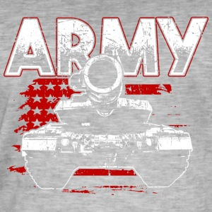 Soldier! Army! Military! Patriot! - Men's Vintage T-Shirt
