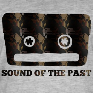SOUND OF THE PAST - Männer Vintage T-Shirt