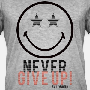 SmileyWorld Never Give Up Gib Nie Auf