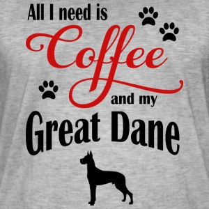 Great Dane Coffee - Men's Vintage T-Shirt
