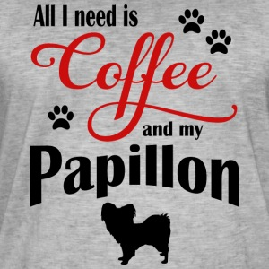 Papillon Coffee - Men's Vintage T-Shirt