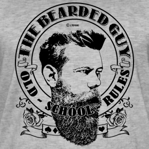bearded guy 02 - Men's Vintage T-Shirt