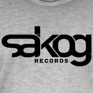 Sakog records - T-shirt vintage Homme