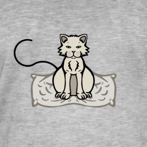 gattosenzatesto - Men's Vintage T-Shirt