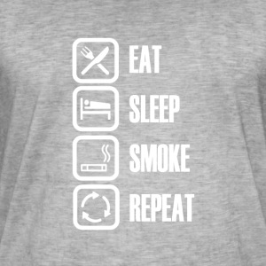 SMOKE EVERY DAY - Men's Vintage T-Shirt