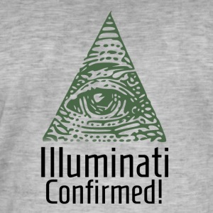 Illuminati Confirmed - Illuminati Shirt - Men's Vintage T-Shirt