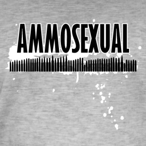Ammosexual Multi-Calibre (sort) - Herre vintage T-shirt