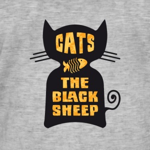 CATS - The Black Sheep - Vintage-T-shirt herr