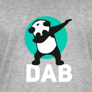 dab panda touchdown Football crass Music LOL funny - Men's Vintage T-Shirt