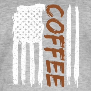 Coffee Lovers - T-shirt vintage Homme