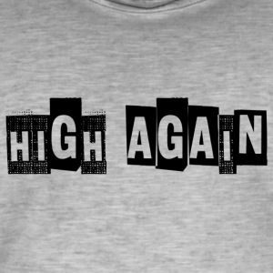 HIGH IGJEN - Vintage-T-skjorte for menn