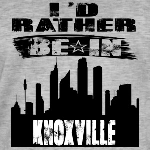 Gift Id rather be in Knoxville - Men's Vintage T-Shirt