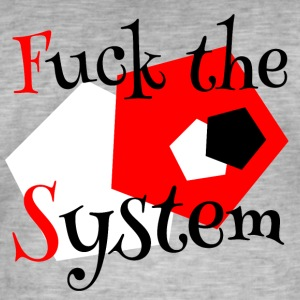 Fuck the System 1 - Camiseta vintage hombre