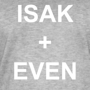 ISAK + EVEN - Vintage-T-skjorte for menn