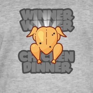 Winner Winner Chicken Dinner PUBG GAMING SCEN - Vintage-T-shirt herr