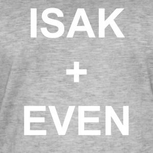 ISAK + EVEN - Men's Vintage T-Shirt