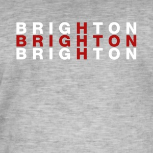 Brighton United Kingdom Flag Shirt - Brighton - Men's Vintage T-Shirt