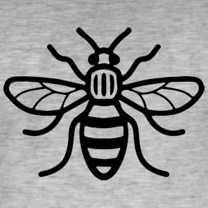 Manchester Bee - T-shirt vintage Homme