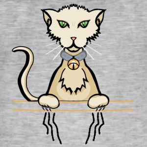 gattocolor2 - Vintage-T-skjorte for menn