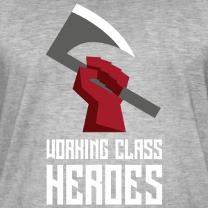 ARBETS Class Heroes - Vintage-T-shirt herr
