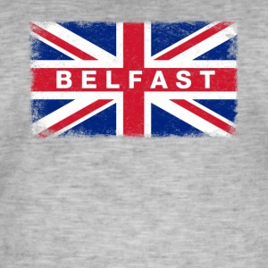 Belfast Shirt Vintage United Kingdom Flag T-Shirt - Men's Vintage T-Shirt