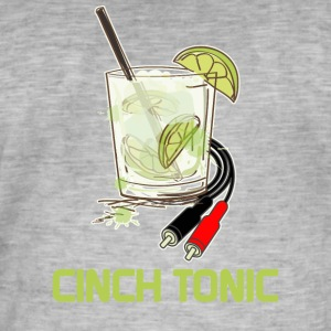 Cinch Tonic - Männer Vintage T-Shirt