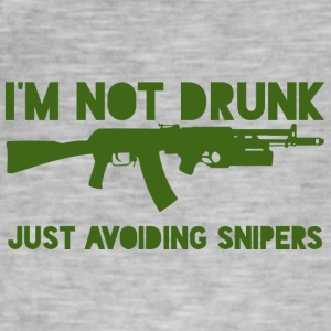 Military / Soldiers: I'm not drunk. Just avoiding - Men's Vintage T-Shirt