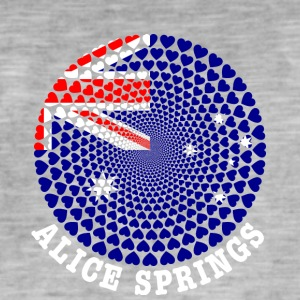 Alice Springs - Men's Vintage T-Shirt