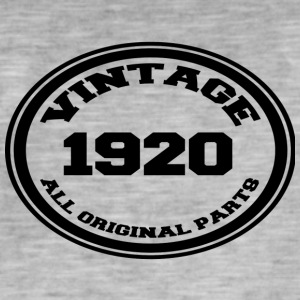 Year of birth / year 1920 - Men's Vintage T-Shirt