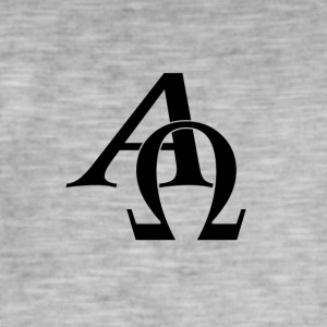Alpha and omega - Men's Vintage T-Shirt