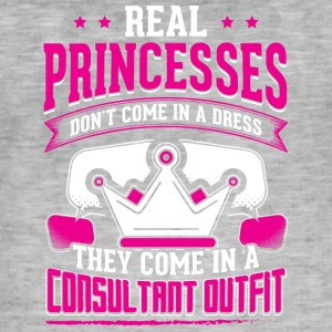 REAL PRINCESSES consultant 1 - Men's Vintage T-Shirt
