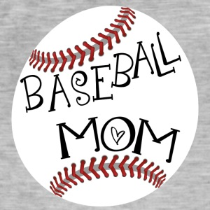 Baseball Mom - Männer Vintage T-Shirt