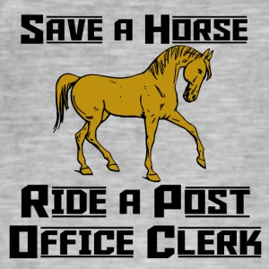 save a horse - Men's Vintage T-Shirt