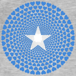 Somalia Soomaaliya الصومال Love HEART Mandala - Men's Vintage T-Shirt