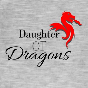 Daughter of Dragons - Vintage-T-skjorte for menn