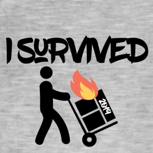 I survived 2019 - Männer Vintage T-Shirt