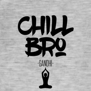 Chill Out Bro - Vintage-T-skjorte for menn