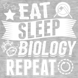 biology EAT SLEEP Biologie Biologe - Männer Vintage T-Shirt
