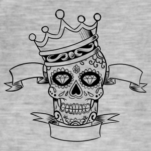 King Skull - Men's Vintage T-Shirt
