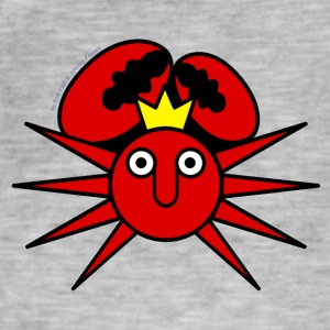 King Crab Sun - Men's Vintage T-Shirt