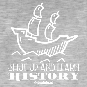 Learn History - white - Men's Vintage T-Shirt